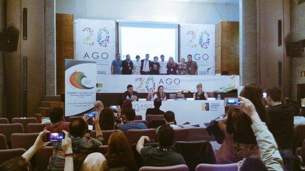 La RQJ estuvo presente en la XX Asamblea General Ordinaria del Consejo de la Juventud de España