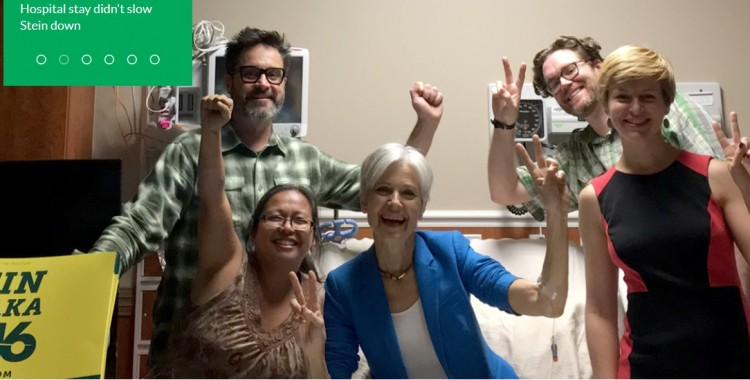 La Red EQUO Joven muestra su apoyo a la candidata del partido verde de estados unidos, Jill Stein