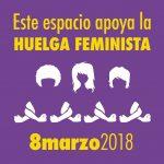 MANIFIESTO 8 DE MARZO DE 2018. DÍA INTERNACIONAL DE LA MUJER.